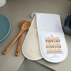 Personalised Cake Oven Glove - kitchen