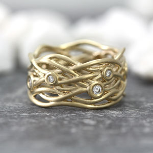 Multi Stone Nest Ring - rings