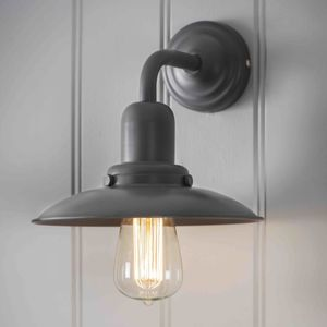 Charcoal Grey Wall Light