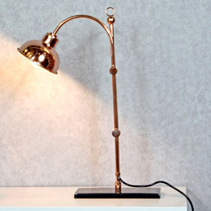 Copper Desk Lamp Oxford Design Limited Edition - desk lamps