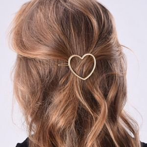 Gold Heart Hair Clip - gifts for the kids