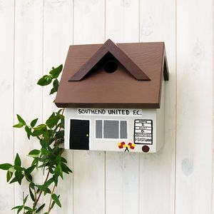 Personalised Football Club Bird Box - birds & wildlife