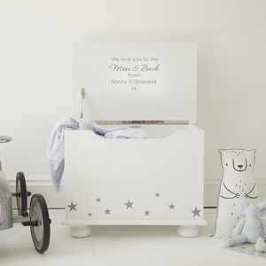 Star Personalised Toy Box