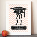 Personalised Graduation Keepsake Gift Print