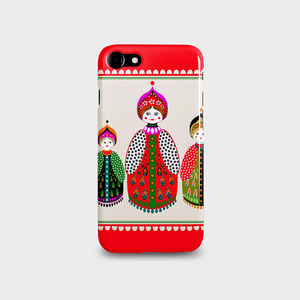 Russian Dolls iPhone And Samsung Galaxy Case - technology accessories