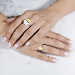 My Sun, My Moon Adjustable Rings - gifts for teenagers