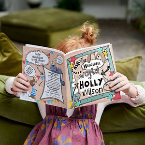 'The Wonderful World Of…' Personalised Child's Journal - free delivery gifts to mainland UK