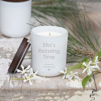 Personalised Scented Luxury Candle