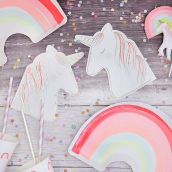 Unicorn Paper Party Napkins