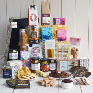 Indulgence Traditional Hamper - last-minute gifts