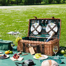 Personalised Luxury Four Person Picnic Basket