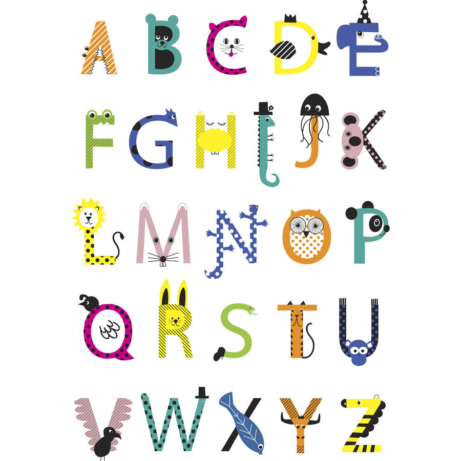 How To Print Alphabet Letters