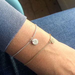 Personalised Slider Bracelet