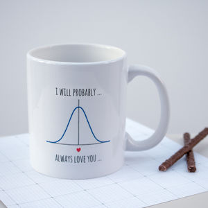 Personalised 'I Will Probably Always Love You' Mug