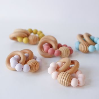 Beehive Wooden Beaded Teething Toy