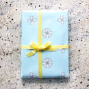 Charlotte Chintz Gift Wrap Two Sheets Folded