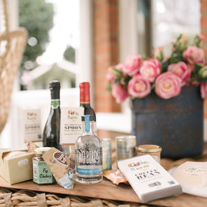Deluxe New Mum Alcohol And Treats Gift Box - for new mums
