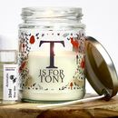 Personalised Nature Candle Making Kit
