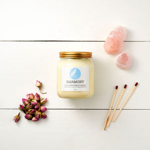 Harmony Soy Aromatherapy Candle - candles