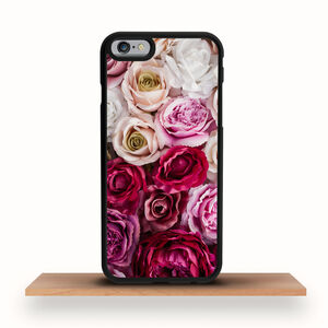 iPhone Case Red And Pink Roses