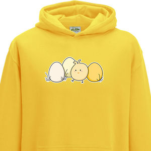 Cute Kawaii Chick Child Hoodie - clothing