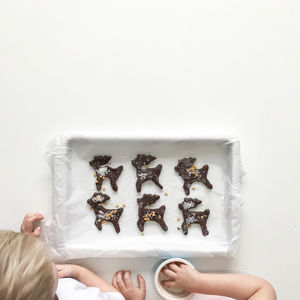 Baking Kit | Chocolate Rudolph Biscuits