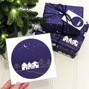 Winter Scene Christmas Card Pack