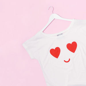 Heart Eyes Women's Loose Fit T Shirt - fashion