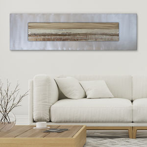 Nickel Shimmer - modern & abstract