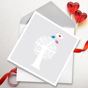 Love Birds - original valentine's cards