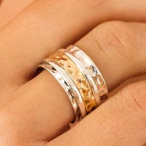 Karma Fortune Spinning Ring - rings