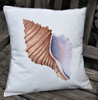 Neptune Seashell Cushion