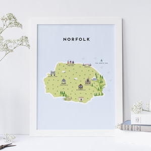 Map Of Norfolk