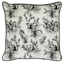 Monkey Toile Cushion Square