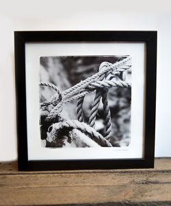 Black And White Rope - new in prints & art