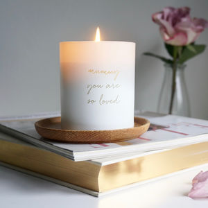 Mother's Day Body Oil Candle - candles & home fragrance