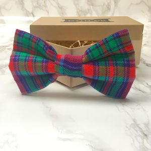 Willow Tartan Dog Bow Tie - gifts for your pet
