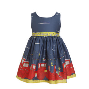Martha Dress With Boats Print - view all sale items