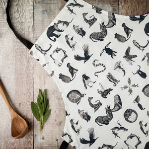 Animal Alphabet Apron