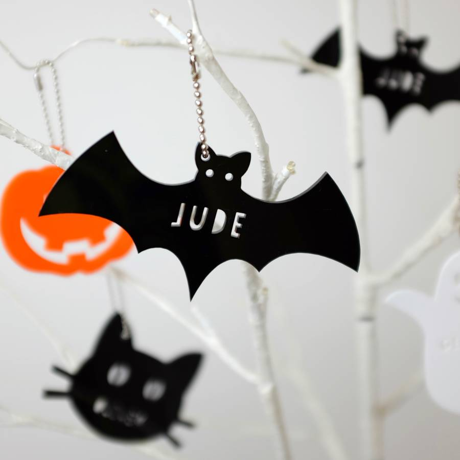 personalised acrylic halloween decorationsauntie mims