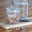 Personalised Nuts Jar