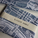 'Glasgow Hankie' Map Handkerchief