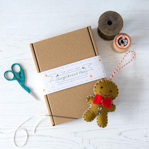 Sew Your Own Gingerbread Man Kit