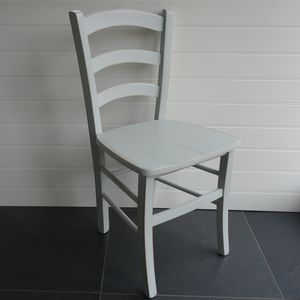 Italian Cafe Chair Hand Painted In Any Colour - furniture