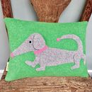 Dachshund Cushions For Dog Lover's