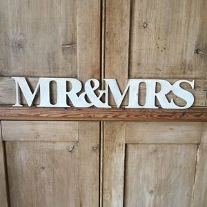 British Steel Mr And Mrs Sign - home accessories