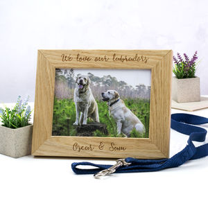 Personalised Pet Photo Frame - pet-lover