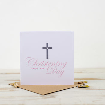 Christening Day Invitation