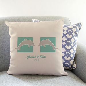 Personalised Dolphin Cushion - cushions