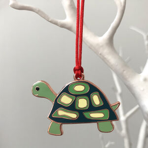 Tortoise Christmas Tree Decoration